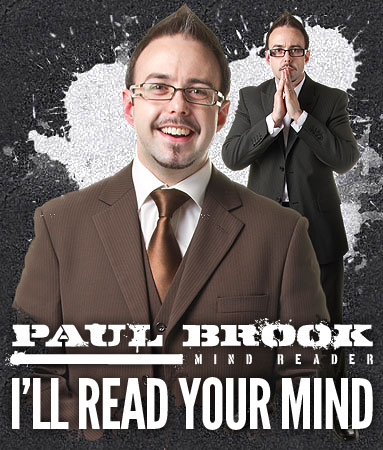 Psychological Mind Tricks - Mind Reader Paul Brook